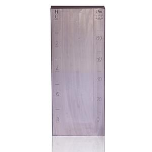 Jauge de finesse de broyage - Grindomètre - Grande rainure - 0-25 µm
