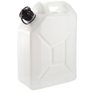 Jerrican blanc - 20 litres - Lot de 10 - Gilac