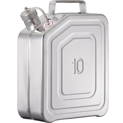 Jerrican de sécurité 10KK - 10L - Bouchon fileté 1 ½