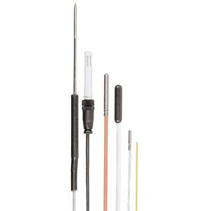 JRI-08513 - Sonde PT100 inox ambiante,  T° : -50...180°C - 5 cm de câble - Jules Richard