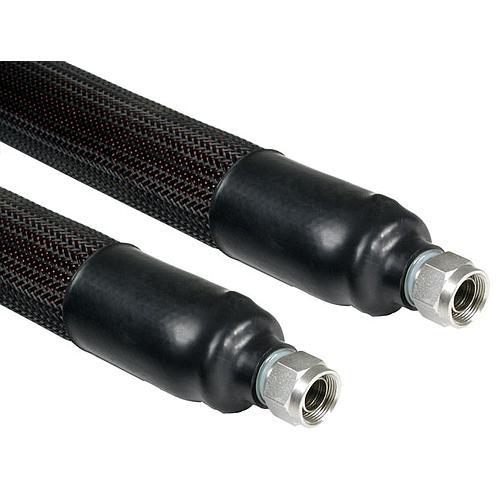 JUL-8930209 - 0.5 m tuyau métallique triple isolation (-100 à +350 °C)