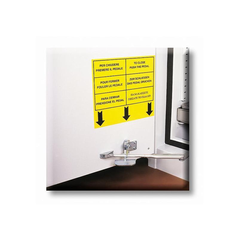 K89004/TGD - Système fermeture automatique des portes T°C > 50°C - DROITE