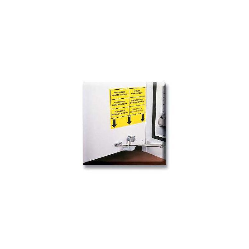 K89004TGG - Système fermeture automatique des portes T°C > 50°C - GAUCHE