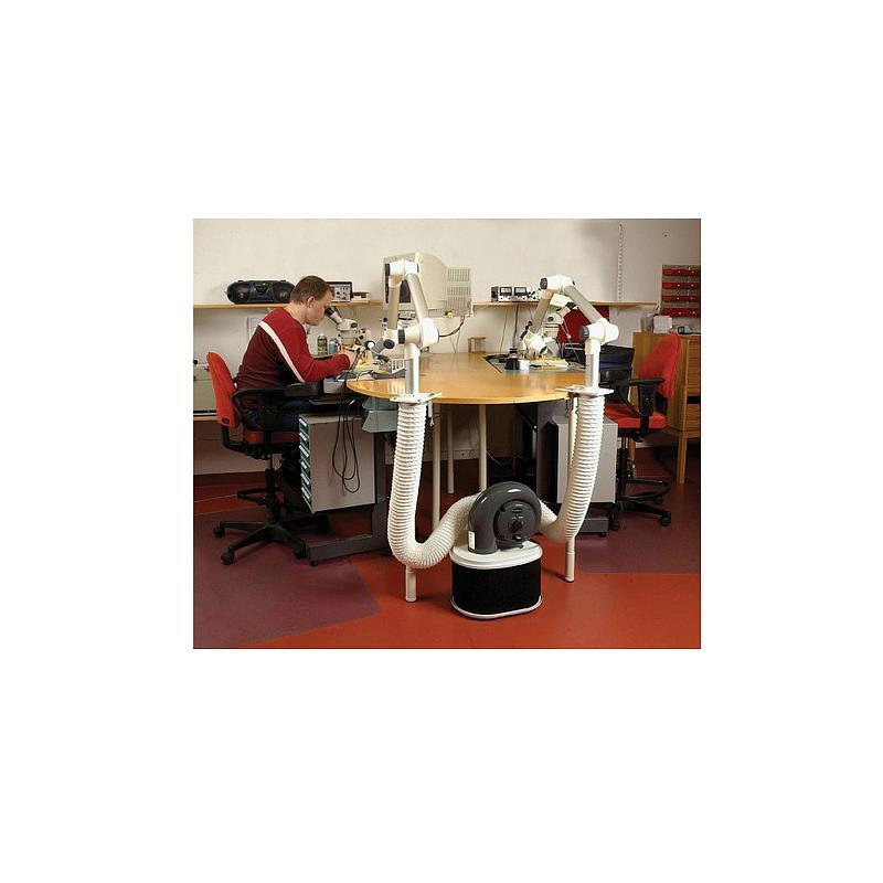 Kit complet d'extraction - Ø75mm - Filtre particules / gaz - Fumex