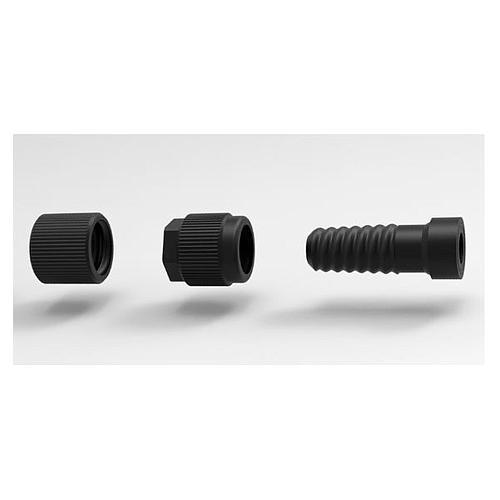 Kit raccord pour flexible à paroi ondulée