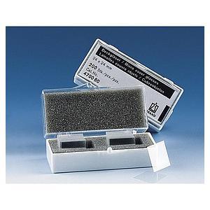 Lamelle couvre-objet pour lame porte-objet - 24 x 60 mm - Boîte de 100 - Brand
