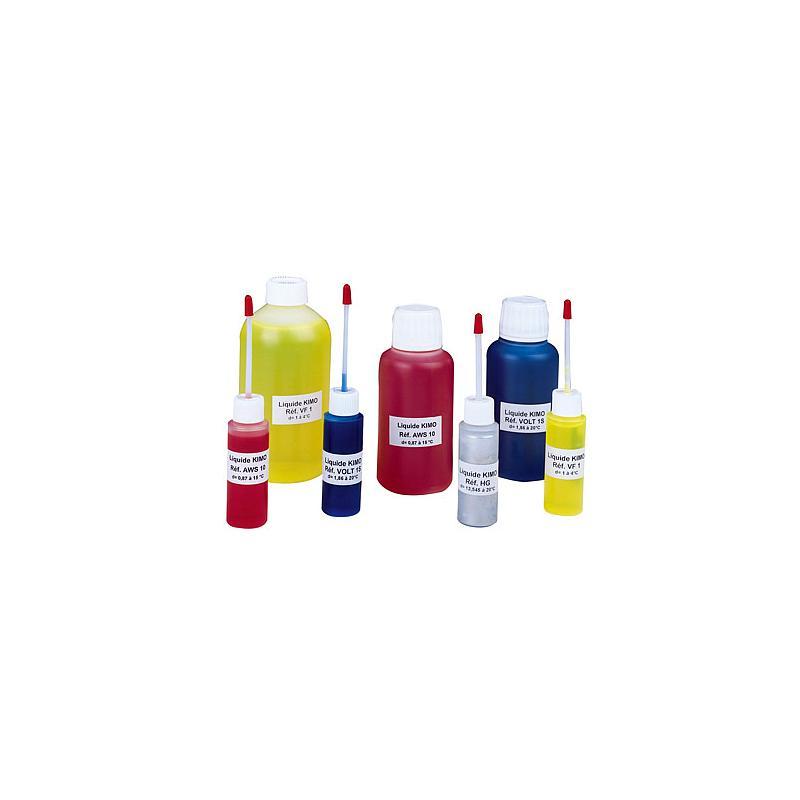 Liquide manométrique rouge - d= 0.87 - Flacon de 250 ml - KIMO