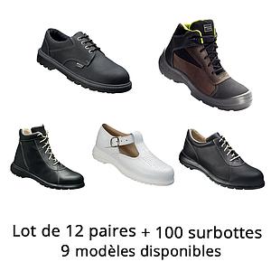 Lot n°11 : Chaussures de sécurité