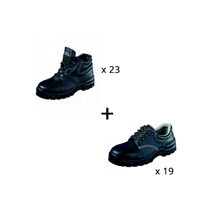 Lot n°13 : Chaussures de sécurité Bacou