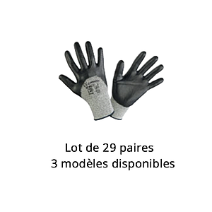 Lot n°15 : Gants de protection coupure