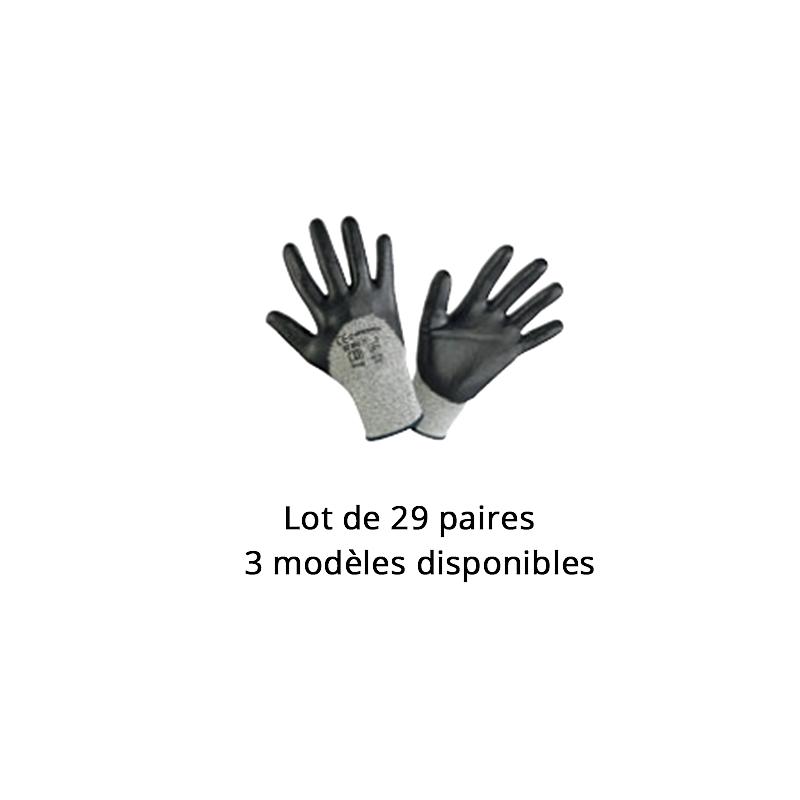 Lot n°15 : Gants de protection coupure