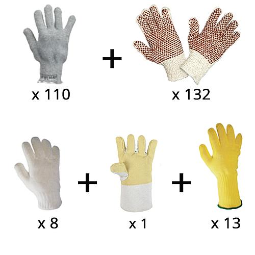 Lot n°16 : Gants de protection thermique