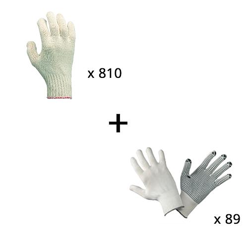 Lot n°17 : Gants de protection de précision