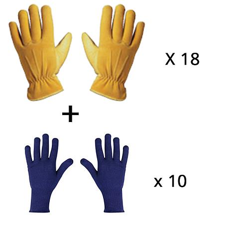 Lot n°19 : Gants de protection thermique froid