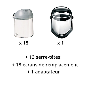 Lot n°5 : Ecrans de protection