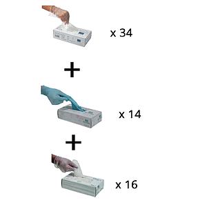 Lot n°6 : Gants de protection à usage unique
