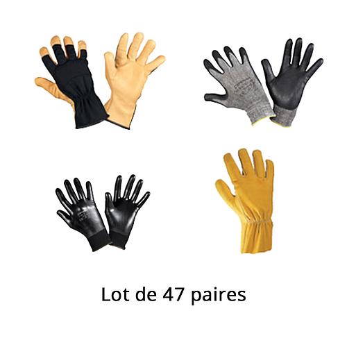 Lot n°7 : Gants de protection pour manutention générale