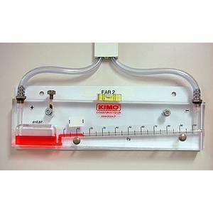 Manomètre à colonne de liquide inclinée HP 5 - KIMO