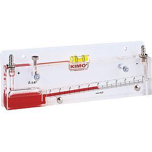 Manomètre à colonne de liquide inclinée TX 75 - KIMO