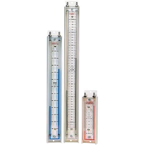 Manomètre à colonne de liquide verticale LU 100 Aws10 - KIMO