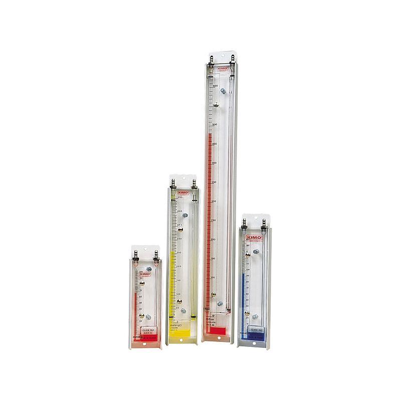 Manomètre à colonne de liquide verticale TJ 300 VOLT 1S - KIMO