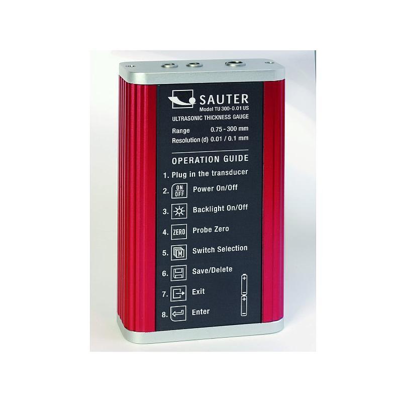 Mesure d'épaisseur des parois par ultrasons haut de gamme - Sauter