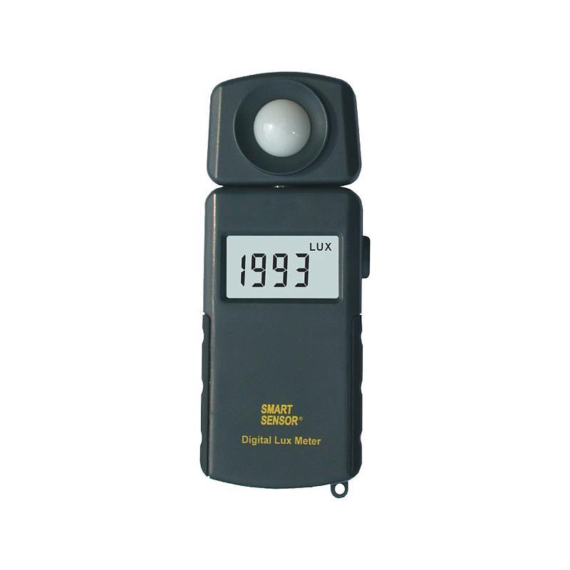 Mesure de l'intensité lumineuse :  luxmètre AR813