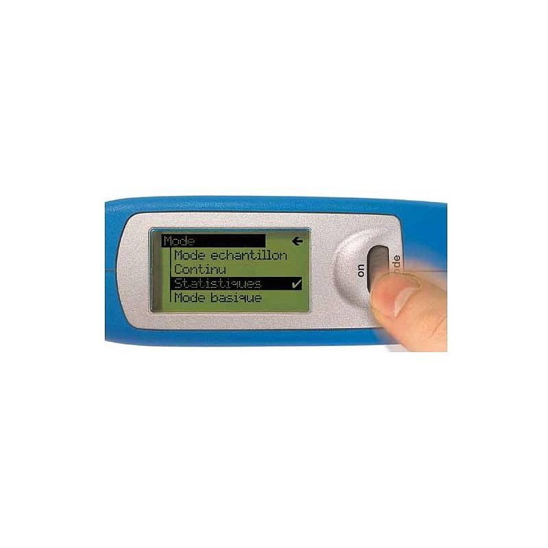 Mesure de la brillance: brillancemètre portatif micro-gloss 75° - Byk