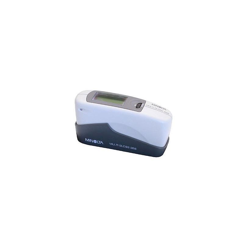 Mesure de la brillance: brillancemètre portatif multi-Gloss multi-angle 20°,60° et 85°