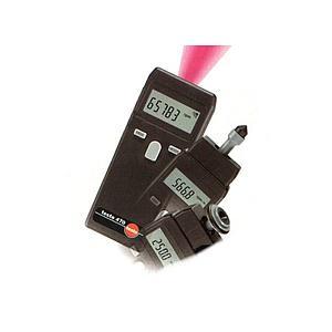 Mesure de la vitesse de rotation : set tachymètre avec et sans contact 470