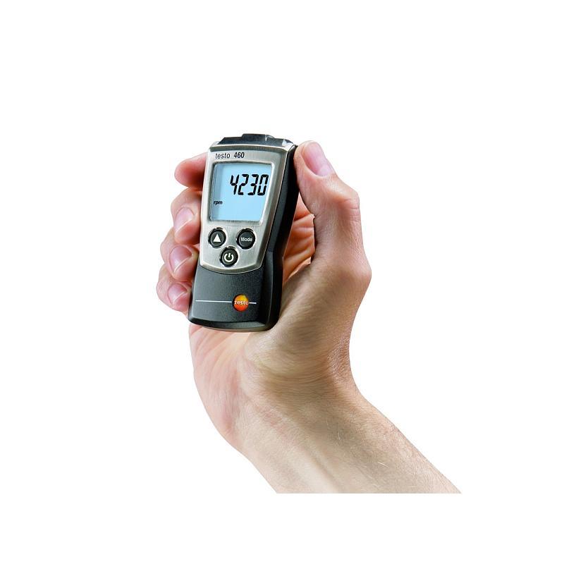 Mesure de la vitesse de rotation : tachymètre sans contact 460