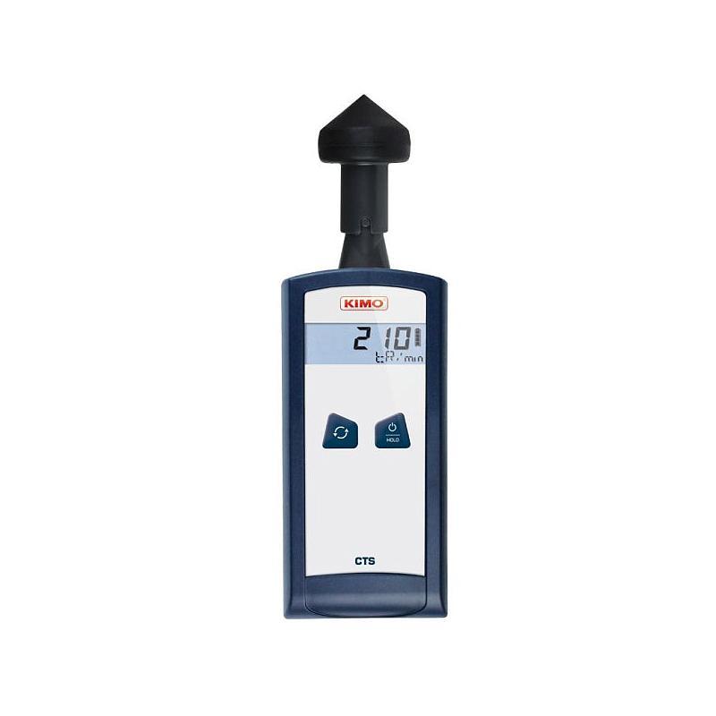 Mesure de la vitesse de rotation : tachymètre sans contact CTS - Kimo