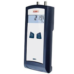 Mesure de pression différentielle : micromanomètre MP1 - Kimo