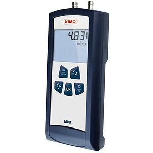 Mesure de pression différentielle : micromanomètre MPB - Kimo