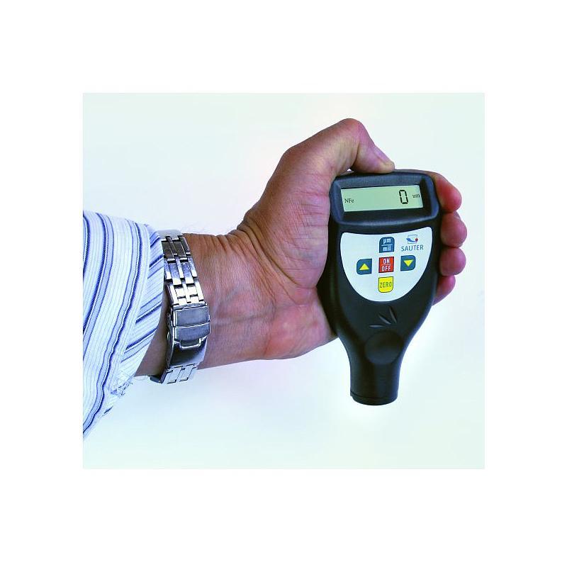 Mesureur digital d'épaisseur de revêtements sur support ferreux / non ferreux - Sauter