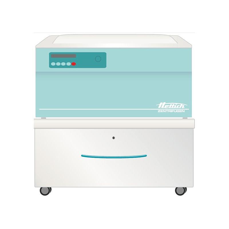 Meuble à roulettes pour centrifugeuses - 1 tiroir