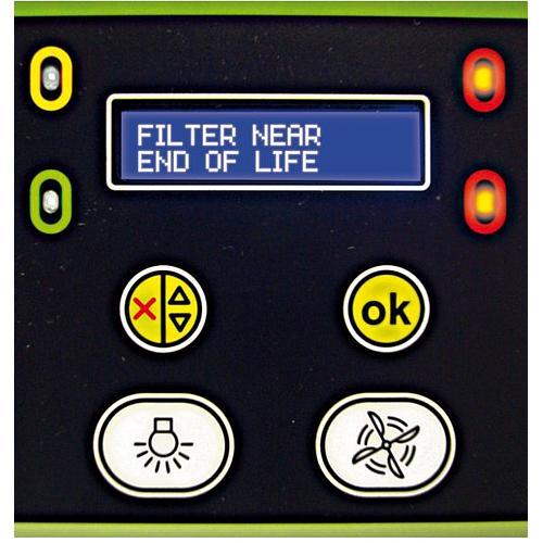 Molécode A - alarme de détection de saturation des filtres par les acides  - Erlab