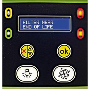 Molécode S - alarme de détection de saturation des filtres par les solvants  - Erlab