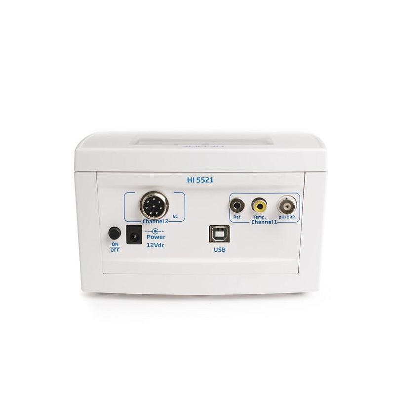 Multiparamètre de laboratoire HI 5521 - pH / conductivité / TDS / Rédox / Température - Hanna