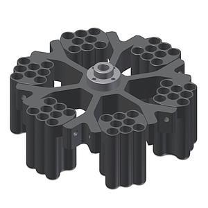 Nacelle 8 x 10 ml pour rotor swing-out - Gyrozen