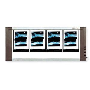 Négatoscope : négatoscope extra-plat - 4 plages - Holtex