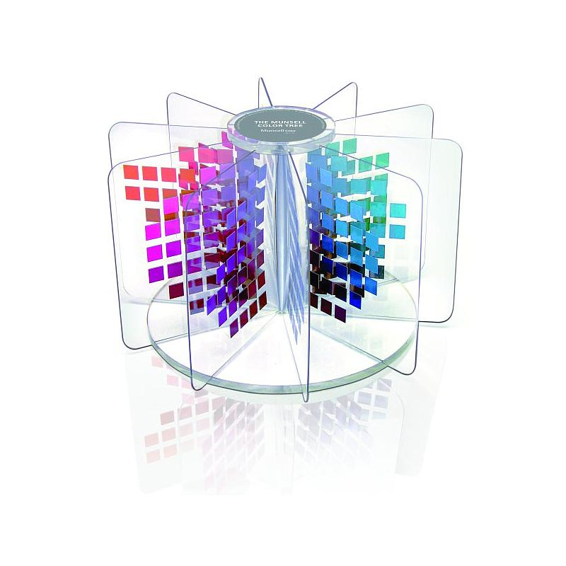 Nuancier tridimensionnel : Arbre de Munsell - X-Rite