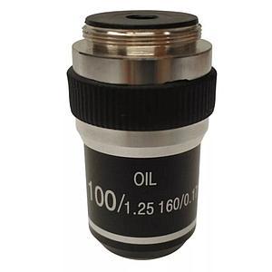 Objectif achromatique 100x / 1.25 (huile) - Optika