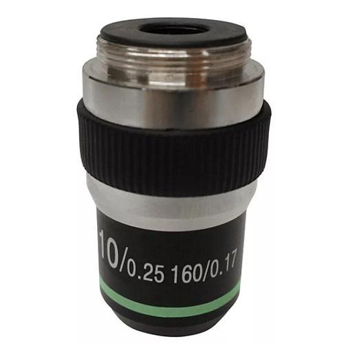 Objectif achromatique 10x / 0.25 - Optika