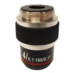 Objectif achromatique 4x / 0.10 - Optika