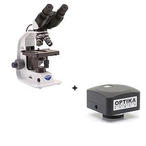 Pack promo : Microscope binoculaire B-159ALC + caméra C-B1