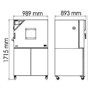 Package A « Enceinte climatique MK115 – Spécial test de batterie hors tension » – Binder