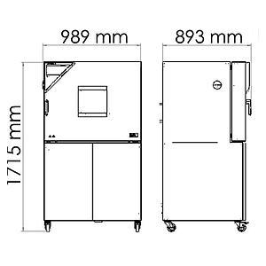 Package A « Enceinte climatique MKF115 – Spécial test de batterie hors tension » – Binder