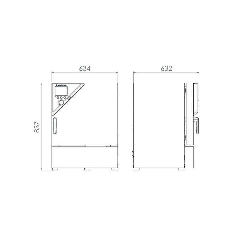 Package A «Enceinte climatique réfrigérée KB 53 – Spécial test de batterie hors tension » – Binder