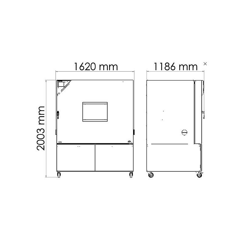 Package P « Enceinte climatique MK720 – Spécial test de batterie sous tension » – Binder
